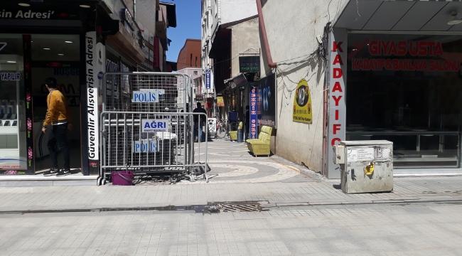 Ara sokakları açıldı