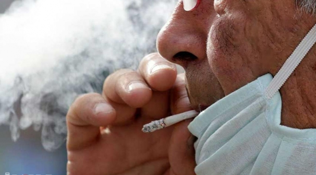 """Bakan Koca: """"Maske takarsanız daha az sigara içersiniz"""""""