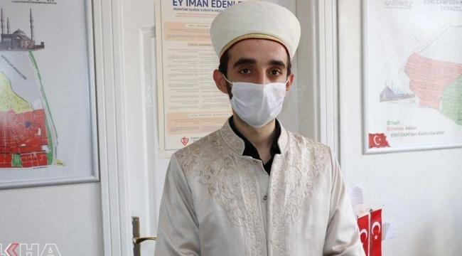 Gaziantep'te mezarlıkta görevli imam hatibin Covid-19 testi pozitif çıktı