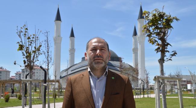 HÜDA PAR Ağrı İl Başkanı Şaban Gökhan'dan Bayram mesajı