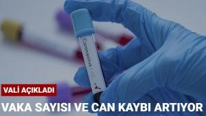 Coronavirus vaka ve hayatını kaybedenlerin sayısı arttı