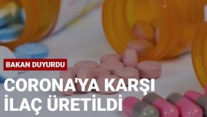 Türkiye Covid-19'a karşı ilaç geliştirdi