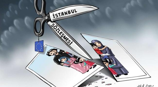 Eşinin eve almadığı Covid-19 hastası İstanbul Sözleşmesi kapsamında evden uzaklaştırıldı!
