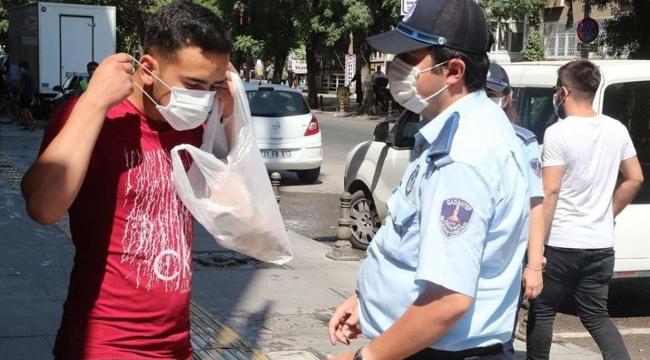 Gaziantep'te Covid-19 kurallarına uymayanlara idari işlem uygulandı