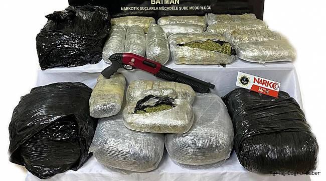Batman'da 44 kilogram uyuşturucu ele geçirildi