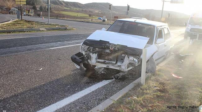 Trafik kazasında 9 kişi yaralandı