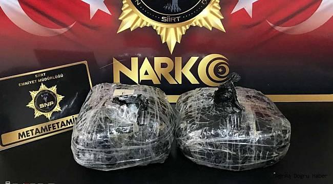 Siirt'te uyuşturucu operasyonu: 2 tutuklama