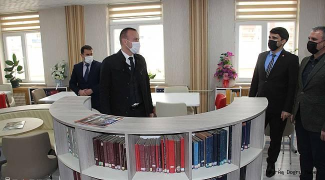 Ağrı'da oluşturulan 2 kütüphanenin açılışı gerçekleştirildi