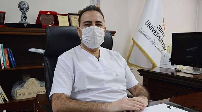 Prof. Arıca Güneydoğu Anadolu Bölgesindeki vakaları değerlendirdi