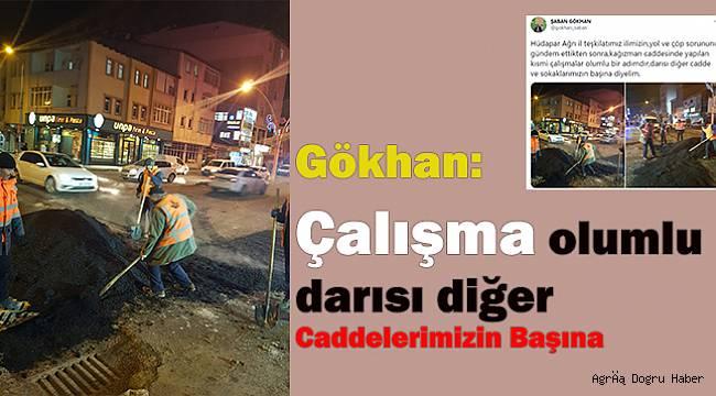Şaban Gökhan: Darısı diğer caddelerin başına!