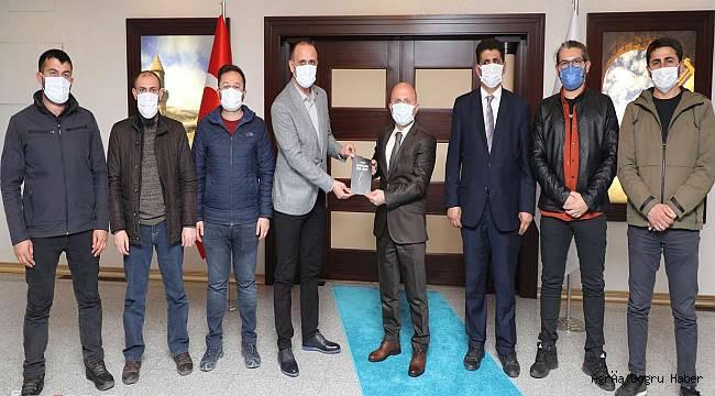Çalışan Gazeteciler Cemiyeti valiyi ziyaret etti