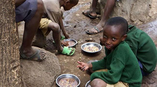 BM 2020'de dünyada açlık tehlikesiyle karşı karşıya kalan insan sayısını açıkladı