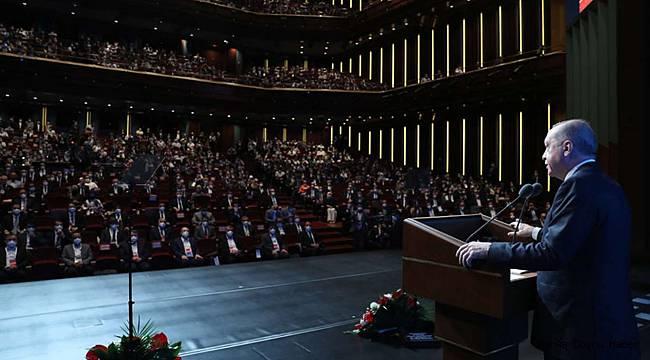 Cumhurbaşkanı Erdoğan gençlere hitap etti