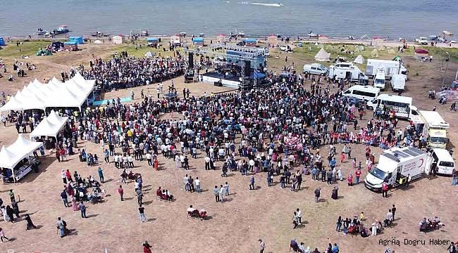 İkincisi düzenlenen Balık Gölü festivali büyük bir coşkuyla gerçekleştirildi