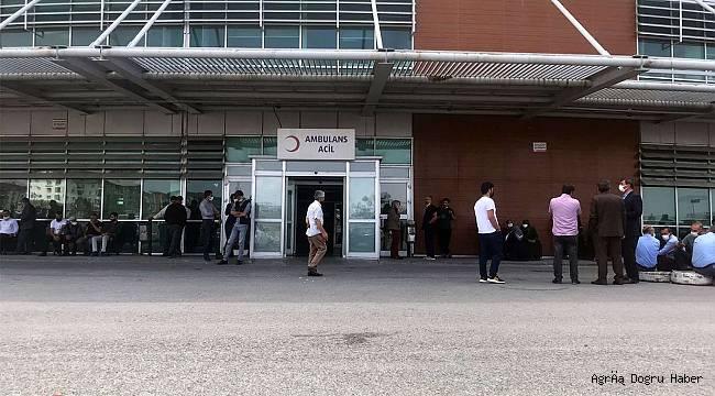 Ağrı'da akrabalar arasında silahlı kavga çıktı : 3 ölü 7 yaralı