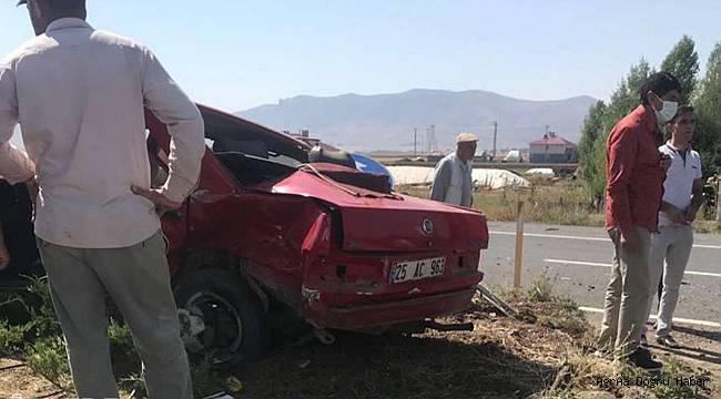 Ağrı'da trafik kazası: 2 ölü, bir yaralı
