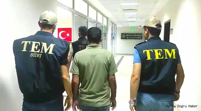 Bir PKK elemanı teslim oldu