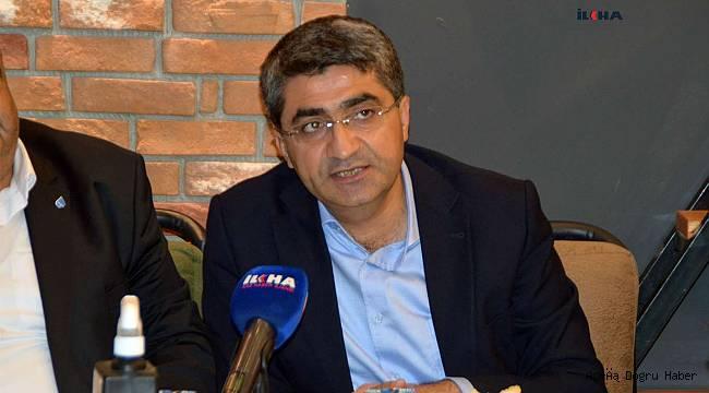 Deva Partisi Genel Başkan Yardımcısı, Ağrı'da bulunan yerel ve ulusal basın siteleri ile bir araya geldi