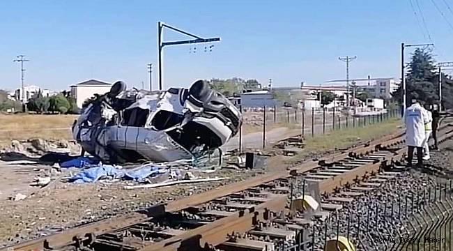 Tekirdağ'da tren kazasında 6 kişi vefat etti