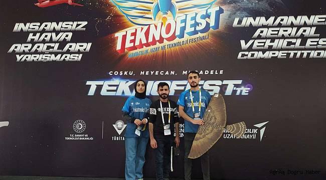 TEKNOFEST Türkiye birincisi Ağrı'dan çıktı